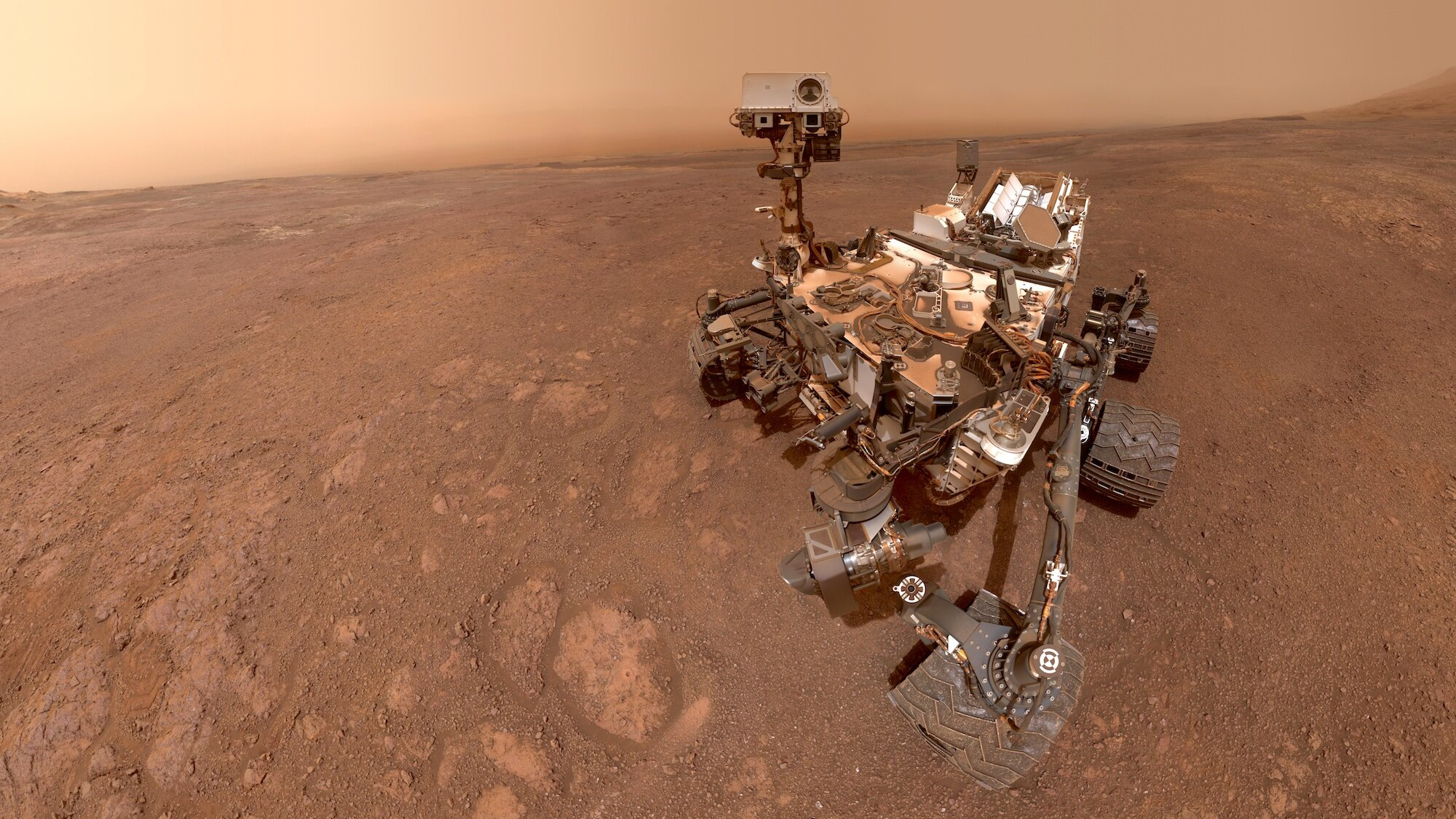 mars rover first photo - photo #5
