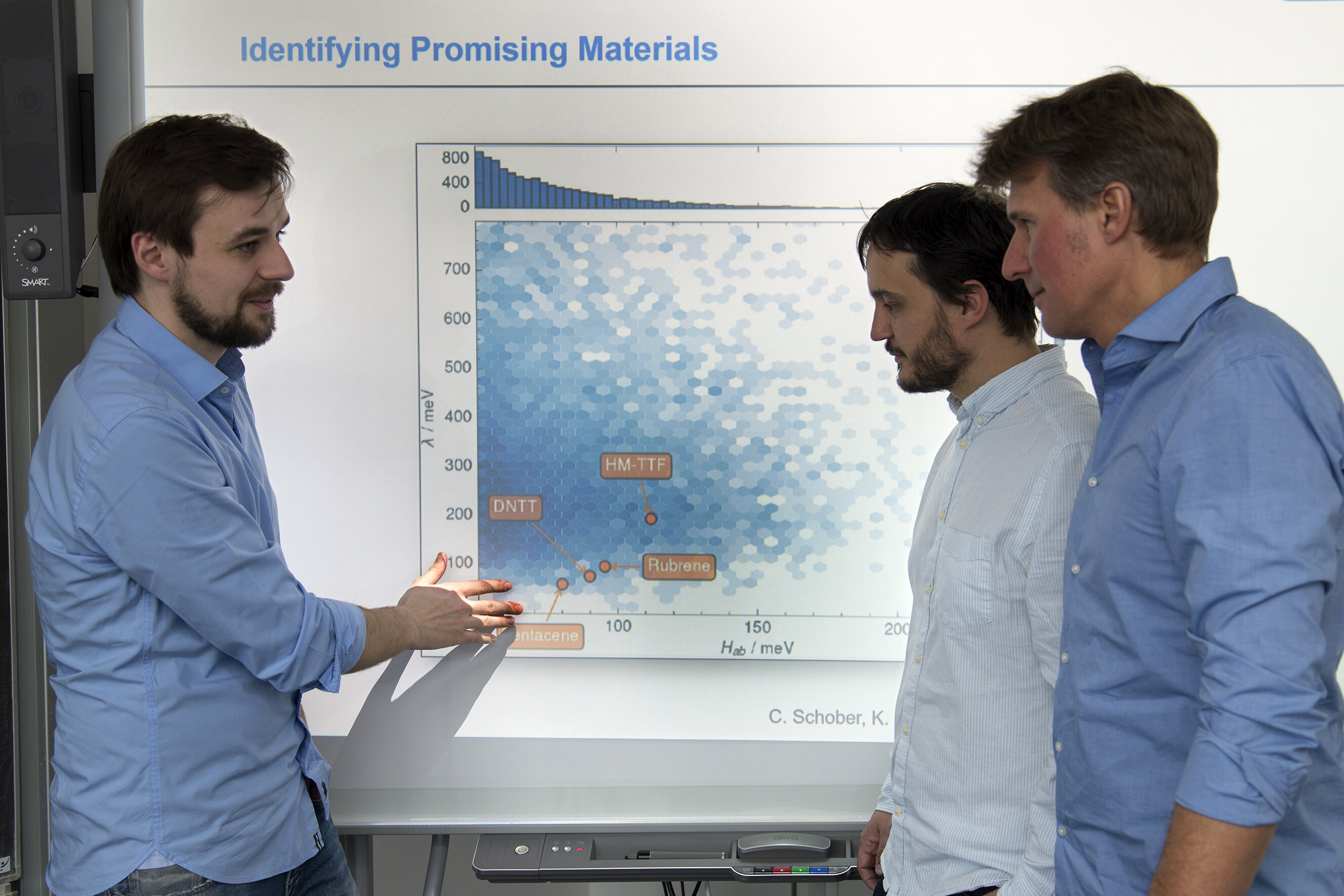 Chemical data mining boosts search for new organic semiconductors