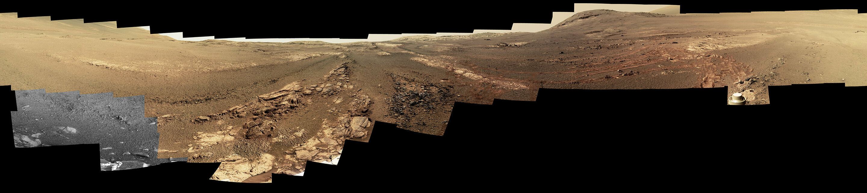 Opportunity's parting shot was a beautiful panorama