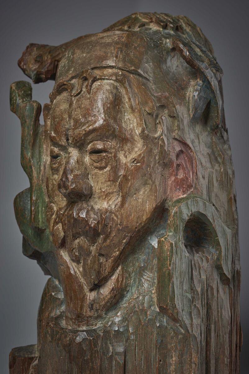 Synchrotron reveals important information about famous sculpture by Paul Gauguin
