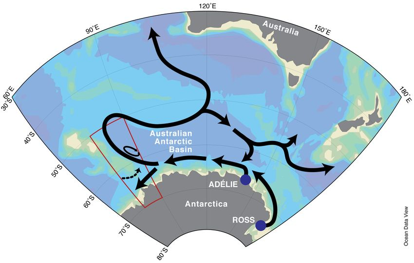 Southern Ocean current discovered