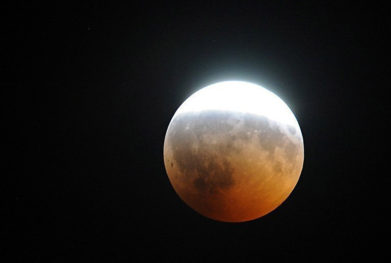 3f8195f6ec42 File photo of a lunar eclipse. Skygazers with a clear view in North America  and Europe were greeted with a celestial treat in the early morning hours  ...