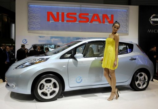 Nissan to make electric cars in Britain from 2013