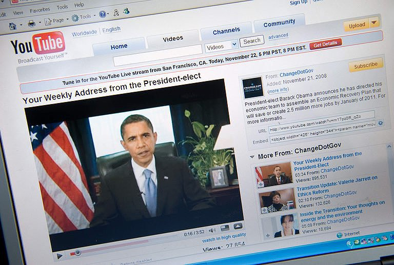 Views Physorg Obama To Answer Questions From Youtube Users