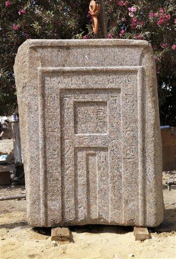 & Door to afterlife from ancient Egyptian tomb found
