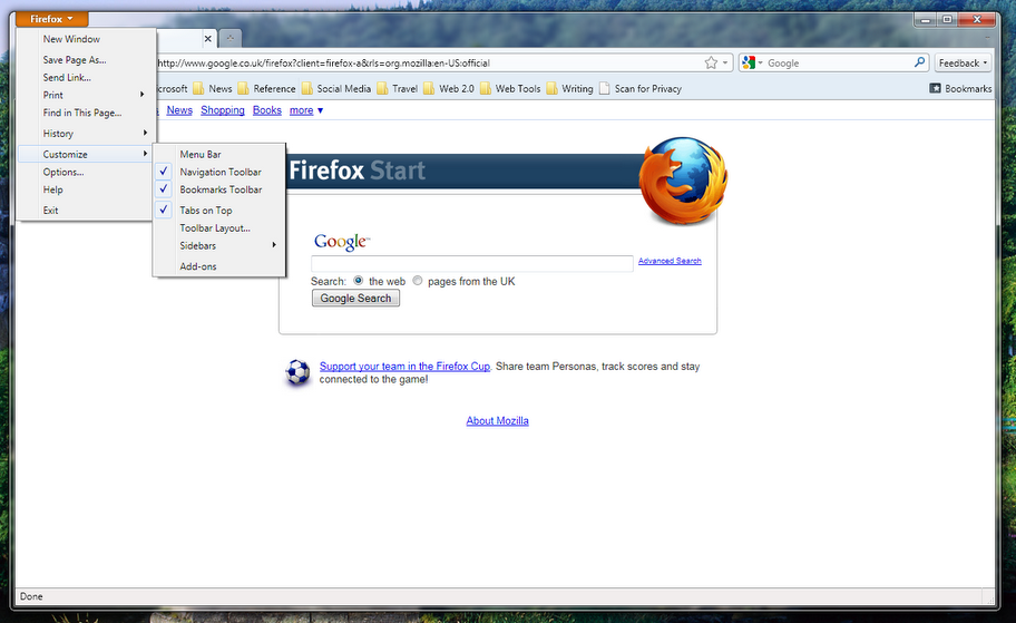 Firefox 3 beta 4 windows deutsch german : propchesni