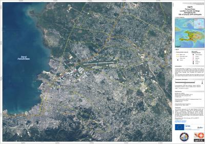 First Satellite Map Of Haiti Earthquake