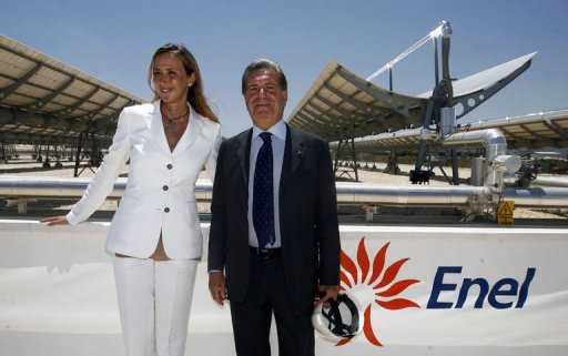 Italy S Enel Opens Innovative Solar Power Plant