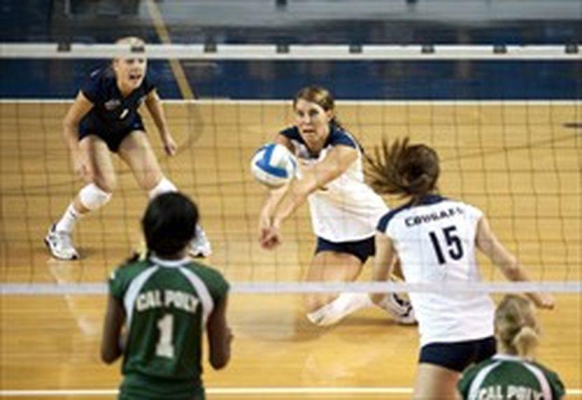 volleyball skills study men should serve women dig