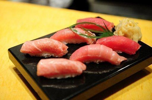 Bluefin tuna sushi - photo#18