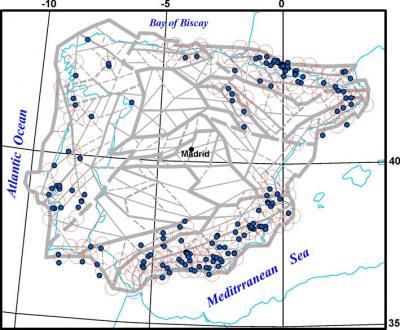 New areas prone to moderate earthquakes identified in Iberian Peninsula