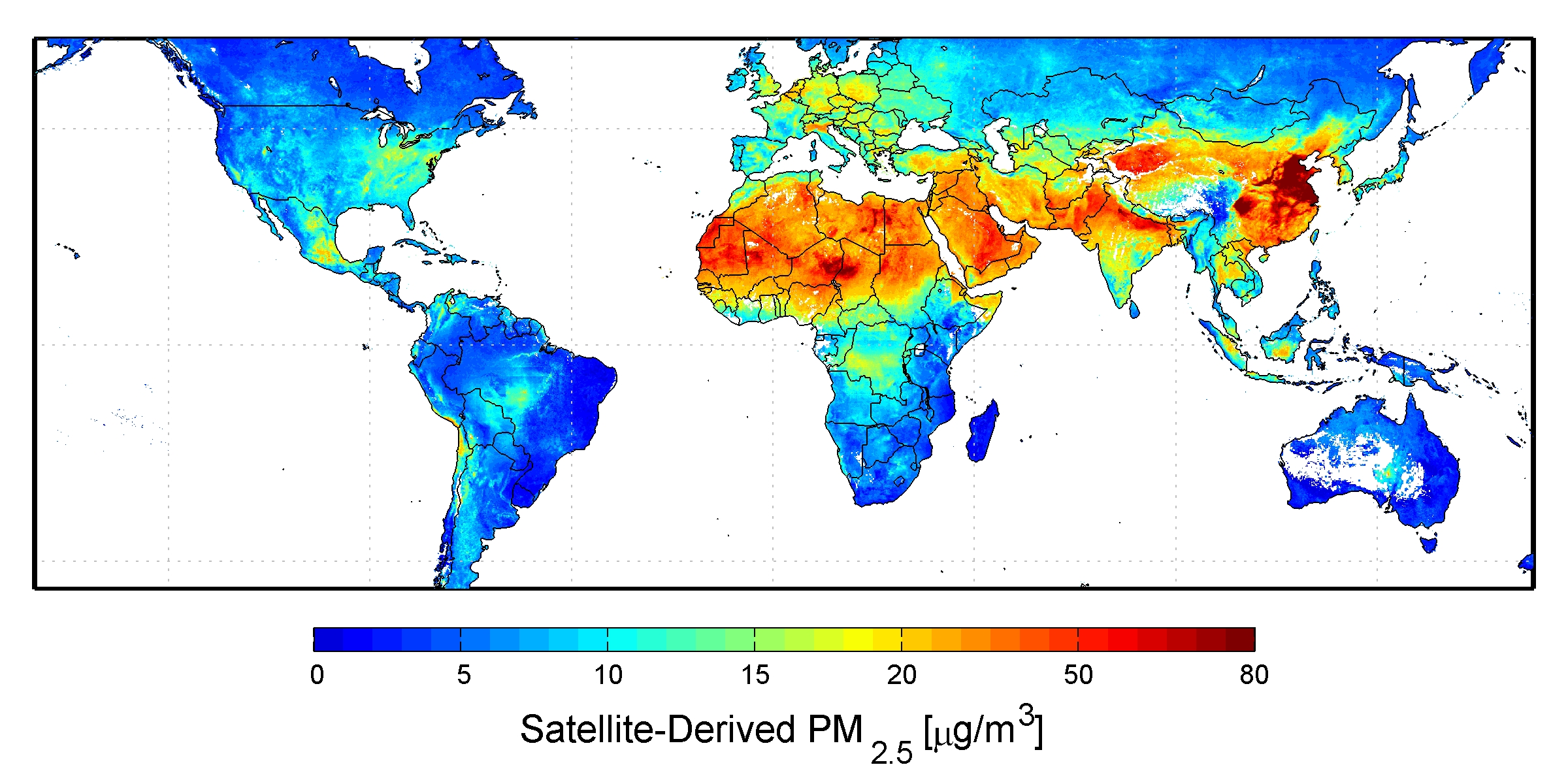 New Map Provides Global View Of Health Sapping Air Pollution W Video