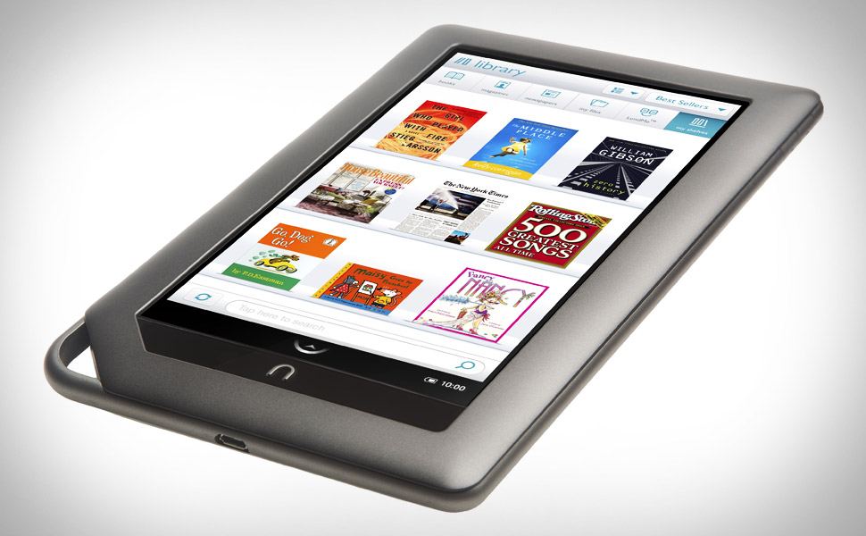 New e-reader Nook Color offers alternative