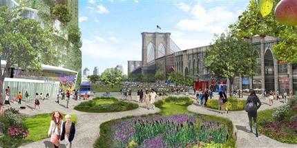 ny exhibit imagines utopian green cities in 2030