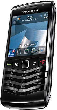 bold 9650 and pearl 3g rim turns blackberry phones into work line rh phys org BlackBerry Torch 9800 BlackBerry Bold 9530