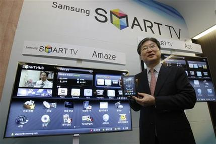 Samsung sees big jump in 3-D TV sales in 2011