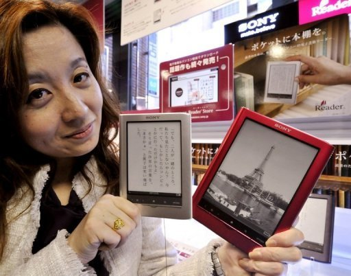 Sony And Sharp Launch E-Readers, Tablets In Japan-5929