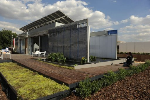 Race to build best solar house opens in Madrid