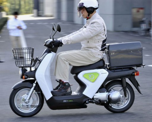 honda unveils zero emission electric scooter. Black Bedroom Furniture Sets. Home Design Ideas