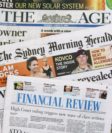 australia u0026 39 s fairfax to charge for online content